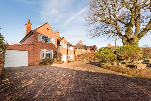 4 Bedrooms Detached House for sale in Bunbury Road, Bournville Village Trust, Northfield, Birmingham, B31