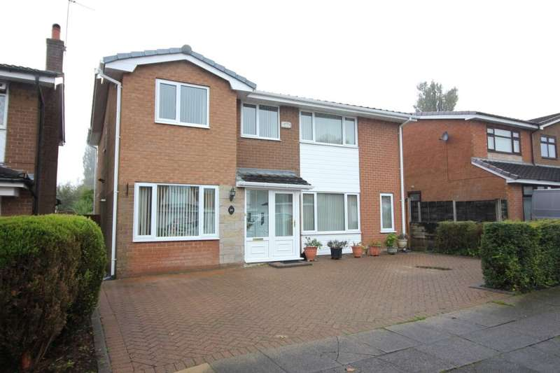 5 Bedrooms Detached House for sale in Trimingham Drive, Bury, BL8
