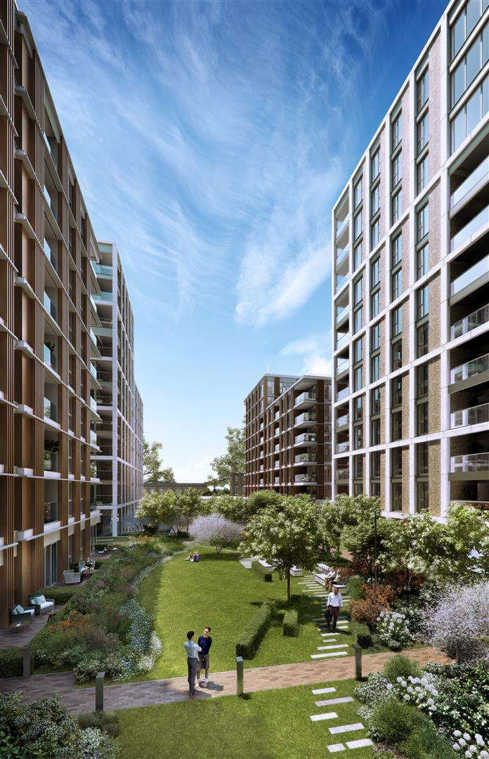 3 Bedrooms Flat for sale in Prince of Wales Drive, London