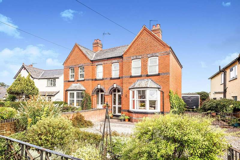 3 Bedrooms Semi Detached House for sale in Whittington Road, Gobowen, Oswestry, Shropshire, SY11