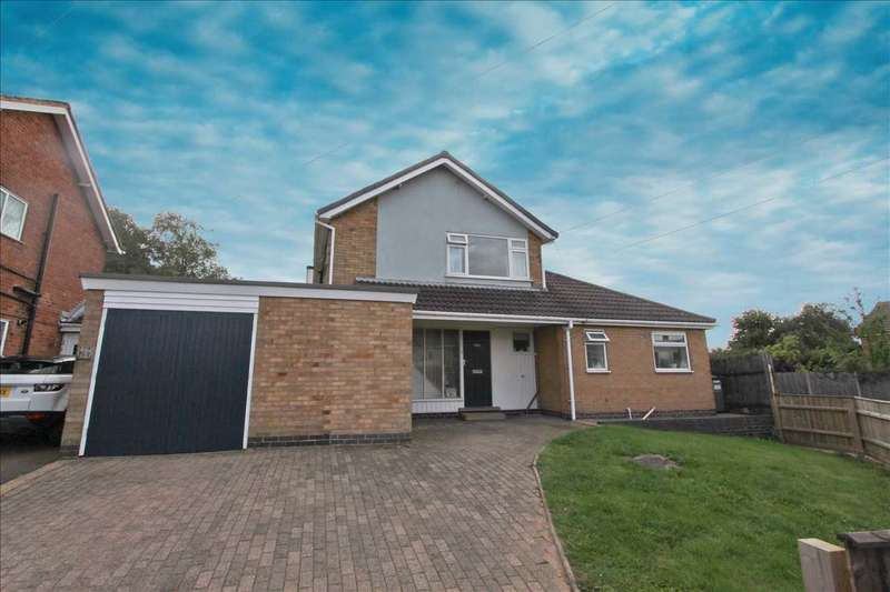 4 Bedrooms Detached House for sale in Clovelly Road, Glenfield, Leicester
