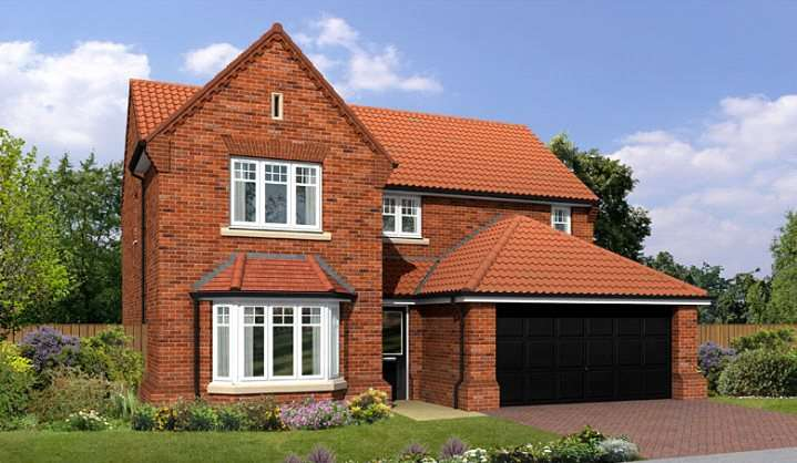 4 Bedrooms Detached House for sale in Hockley Crescent, Langthorpe, Boroughbridge, York