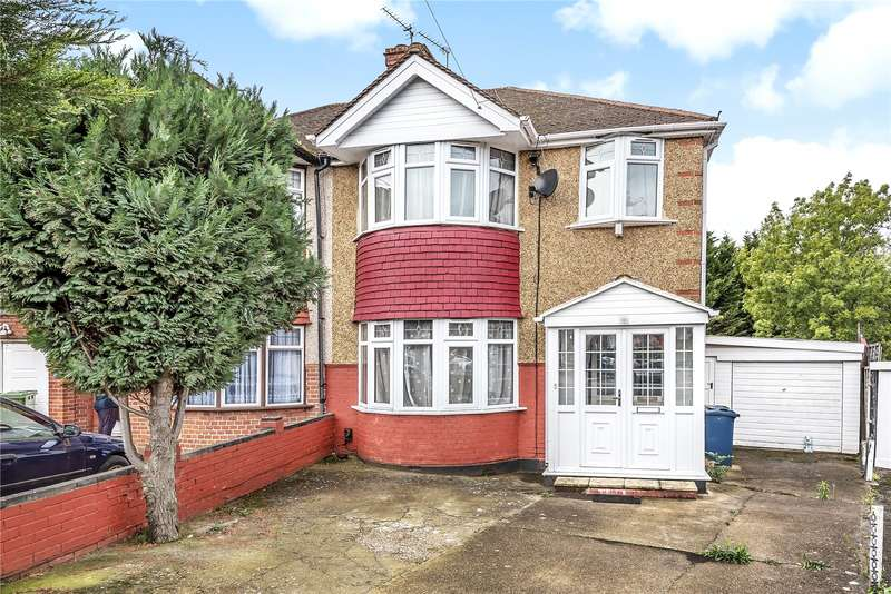 3 Bedrooms Semi Detached House for sale in Worple Close, Harrow, Middlesex, HA2