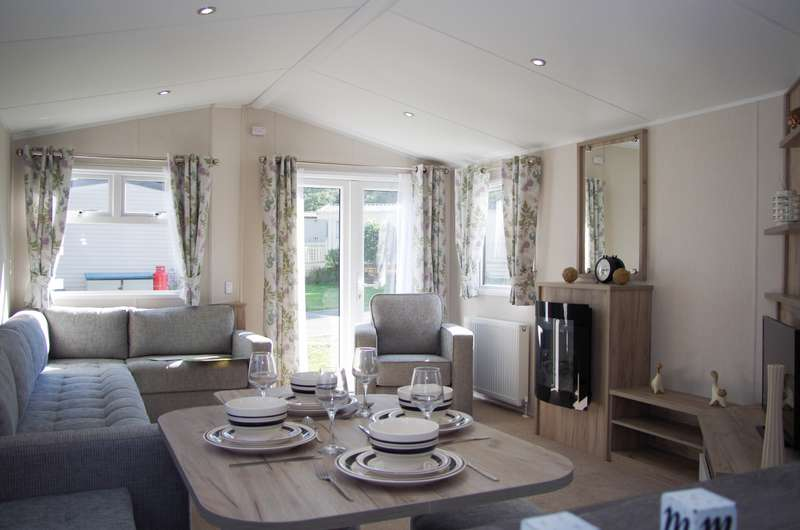 Caravan Mobile Home for sale in Woodlands Hall Holiday Park, Ruthin