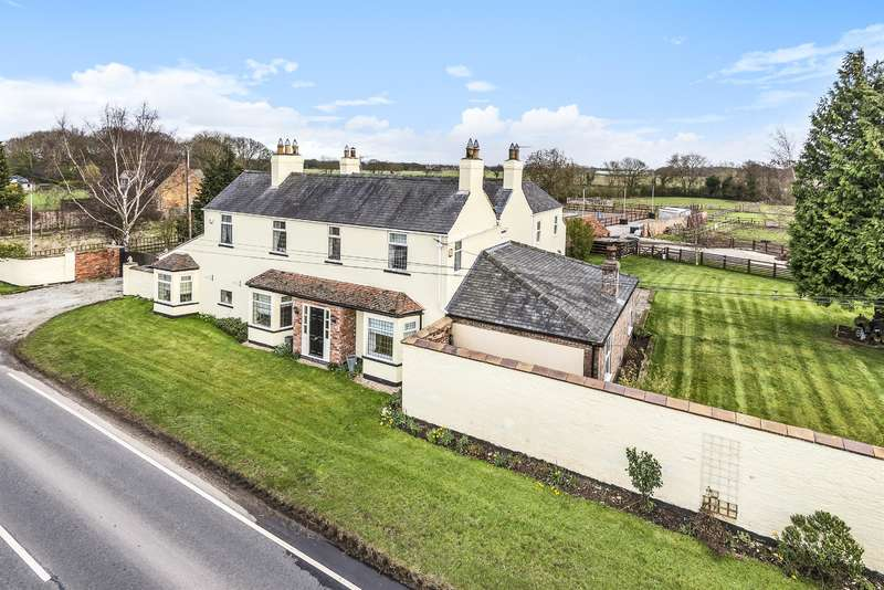 4 Bedrooms Detached House for sale in Water End, Holme-on-Spalding-Moor, York, YO43 4HA