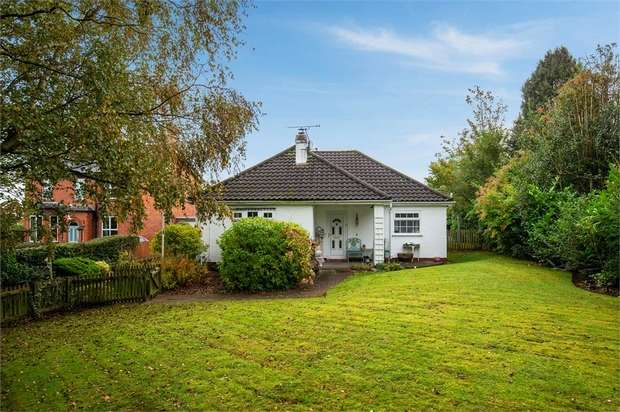 5 Bedrooms Detached Bungalow for sale in Top Road, Kingsley, Frodsham, Cheshire