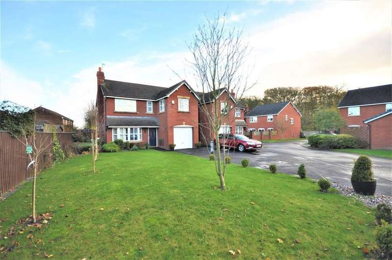 4 Bedrooms Detached House for sale in Linden Close, Clifton