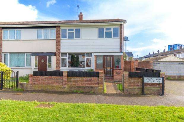 4 Bedrooms End Of Terrace House for sale in Tamar Way, Slough, Berkshire