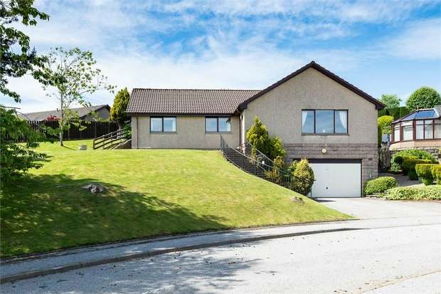 4 Bedrooms Detached Bungalow for sale in Craigston Gardens, Westhill, Aberdeenshire