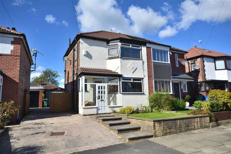 3 Bedrooms Semi Detached House for sale in St Austells Drive, Manchester, M25