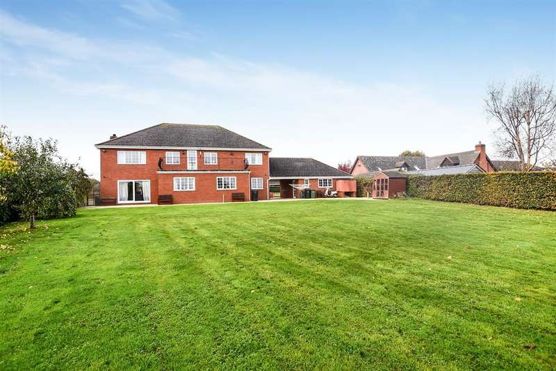 4 Bedrooms Detached House for sale in Grafton Lane, Grafton, Hereford, HR2 8BL