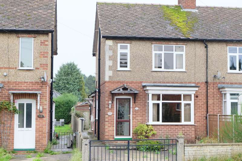2 Bedrooms Semi Detached House for sale in Kirkby Lane, Woodhall Spa, Lincs, LN10 6RZ