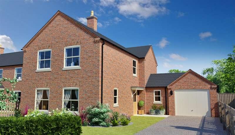 4 Bedrooms Detached House for sale in Blackthorn Lane, Off Stanhope Road, Horncastle, LN9 5EL