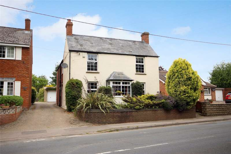 4 Bedrooms Detached House for sale in Restrop Road, Purton, Swindon, Wilts, SN5