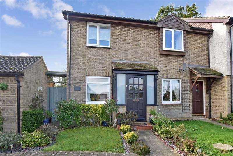 2 Bedrooms End Of Terrace House for sale in Westgate Close, , Canterbury, Kent