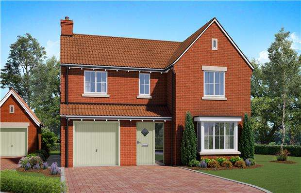 4 Bedrooms Detached House for sale in The Avon, Harford Place, Rangeworthy, BRISTOL, BS37 7LZ