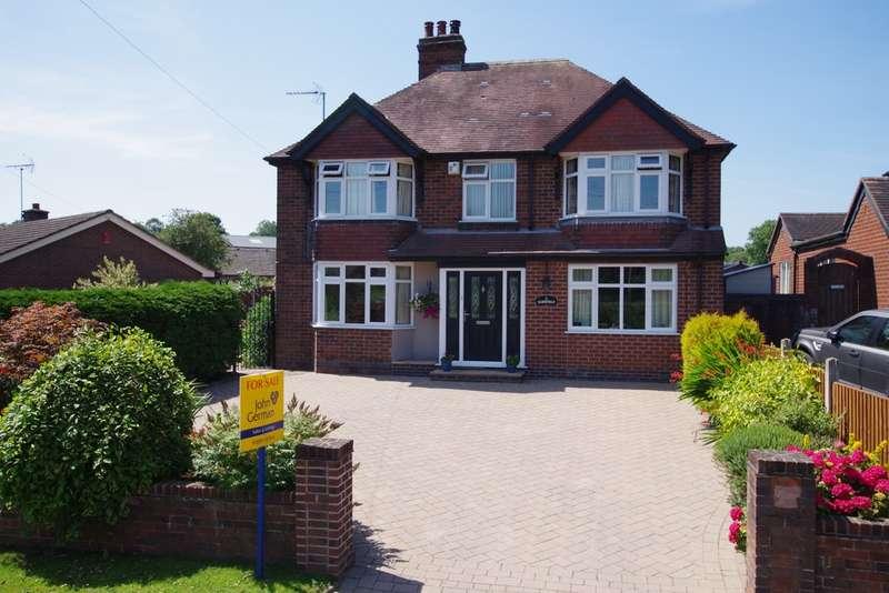 4 Bedrooms Detached House for sale in Oak Road, Denstone, Uttoxeter