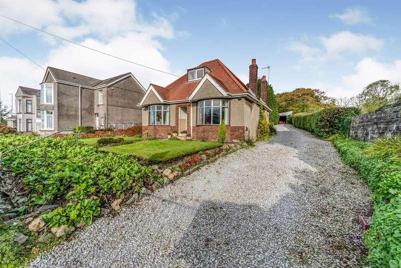 3 Bedrooms Detached Bungalow for sale in Carmarthen Road, Fforestfach, Swansea