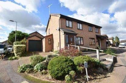 3 Bedrooms Semi Detached House for sale in Tilgate, Luton, Bedfordshire