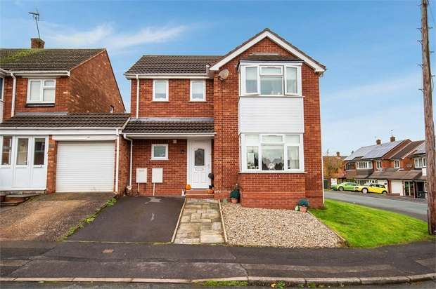 3 Bedrooms Detached House for sale in Simmonds Road, Walsall, West Midlands