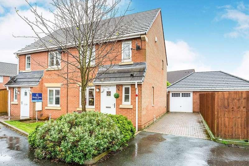 3 Bedrooms Semi Detached House for sale in Main Street, Buckshaw Village, Chorley, Lancashire, PR7