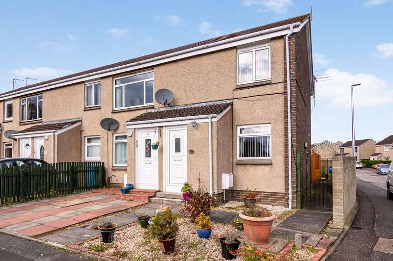2 Bedrooms Flat for sale in Tippet Knowes Road, Winchburgh, Broxburn, EH52