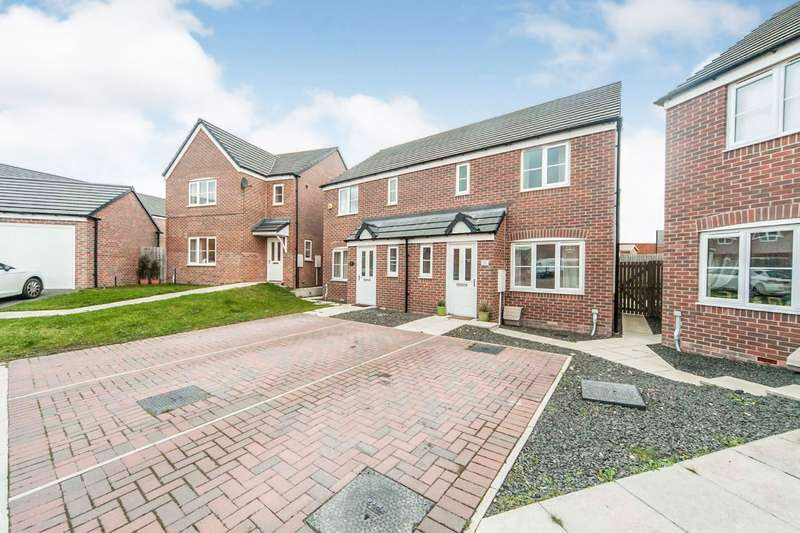 3 Bedrooms Semi Detached House for sale in Corning Road, Sunderland, Tyne and Wear, SR4