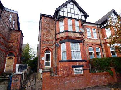 4 Bedrooms Semi Detached House for sale in Grosvenor Road, Whalley Range, Manchester, Greater Manchester