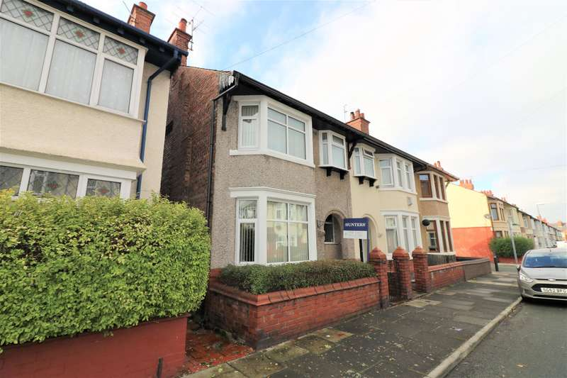 3 Bedrooms Semi Detached House for sale in Dinmore Road, Wallasey, CH44 5XF
