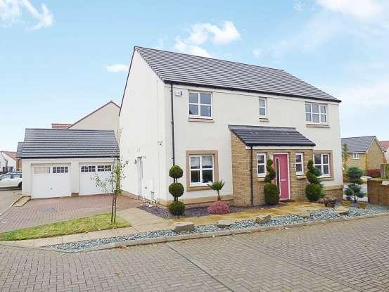 4 Bedrooms Detached House for sale in Alder Walk, Livingston, West Lothian, EH53 0FF