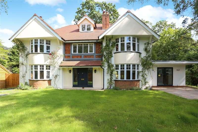 5 Bedrooms Detached House for sale in Broomrigg Road, Fleet, Hampshire, GU51