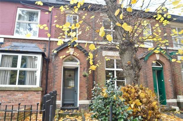 3 Bedrooms Terraced House for sale in Adswood Lane West, Cale Green, Stockport, Cheshire