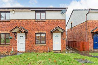 2 Bedrooms End Of Terrace House for sale in Obree Avenue, Prestwick