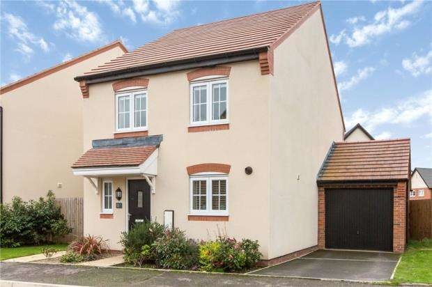 3 Bedrooms Detached House for sale in Hazel Way, Edleston, Nantwich