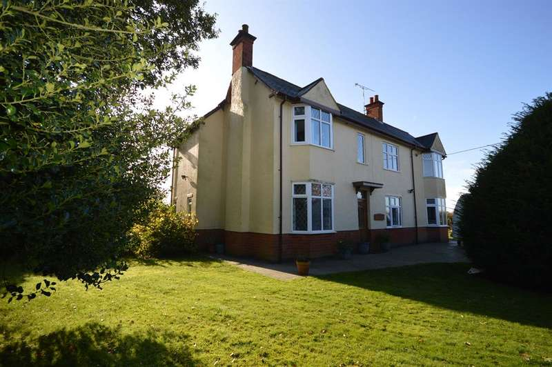 4 Bedrooms Detached House for sale in Hinckley Road, Wolvey, Leics LE10 3HQ