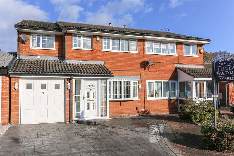 4 Bedrooms Semi Detached House for sale in Beal Close, Heaton Mersey, Stockport, SK4
