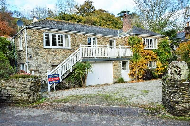4 Bedrooms Detached House for sale in Ruan Lanihorne, Roseland Peninsula, Cornwall. TR2