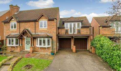 5 Bedrooms Detached House for sale in Blackwell Place, Shenley Brook End, Milton Keynes, Buckinghamshire