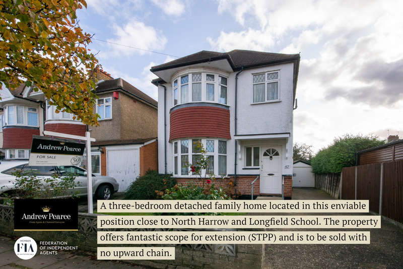 3 Bedrooms Detached House for sale in Norwood Drive, Harrow