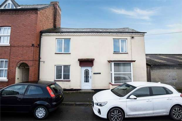 3 Bedrooms End Of Terrace House for sale in Stone Street, Newtown, Powys