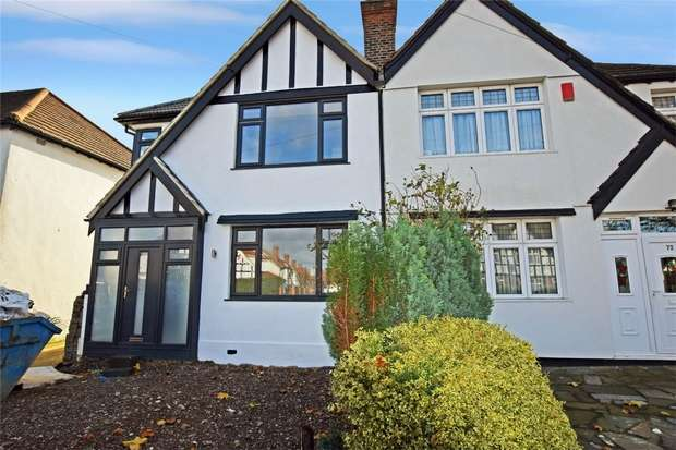 4 Bedrooms Semi Detached House for rent in Abbotts Drive, Wembley, Greater London