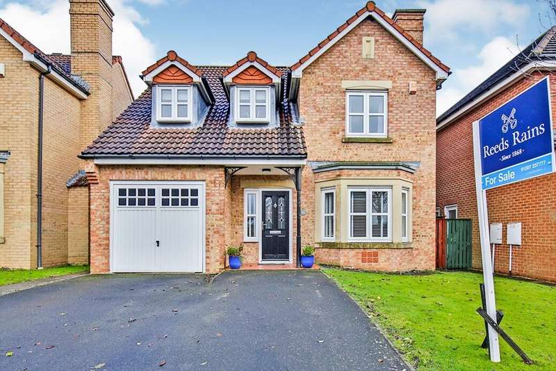 4 Bedrooms Detached House for sale in Badgers Wood, Stanley, DH9