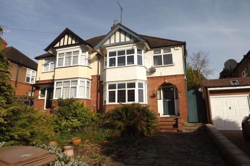 3 Bedrooms Semi Detached House for rent in Cutenhoe Road, Luton, LU1