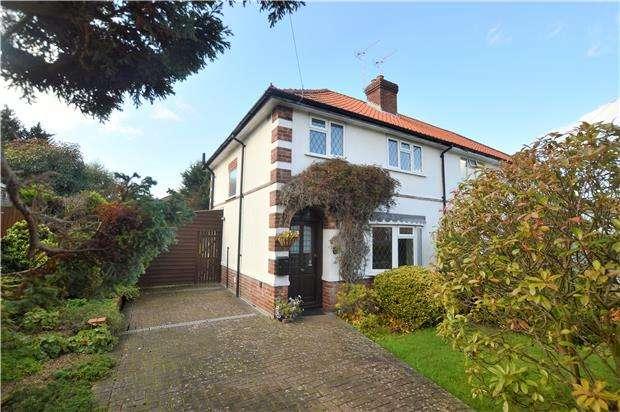 3 Bedrooms Semi Detached House for sale in Swaffield Road, SEVENOAKS, Kent, TN13 3PP