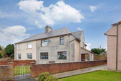 3 Bedrooms Semi Detached House for sale in Thornhouse Avenue, Irvine