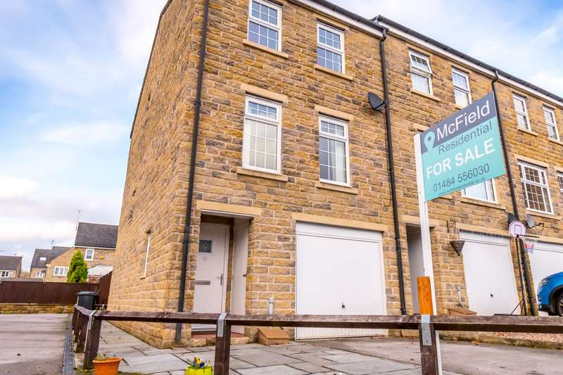 4 Bedrooms End Of Terrace House for sale in Sovereign Square, Bailiff Bridge, HD6 4DD