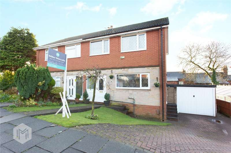 3 Bedrooms Semi Detached House for sale in Douglas Avenue, Horwich, Bolton, Greater Manchester, BL6