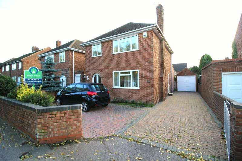 3 Bedrooms Detached House for sale in Cardington Road, Bedford, Bedfordshire, MK42