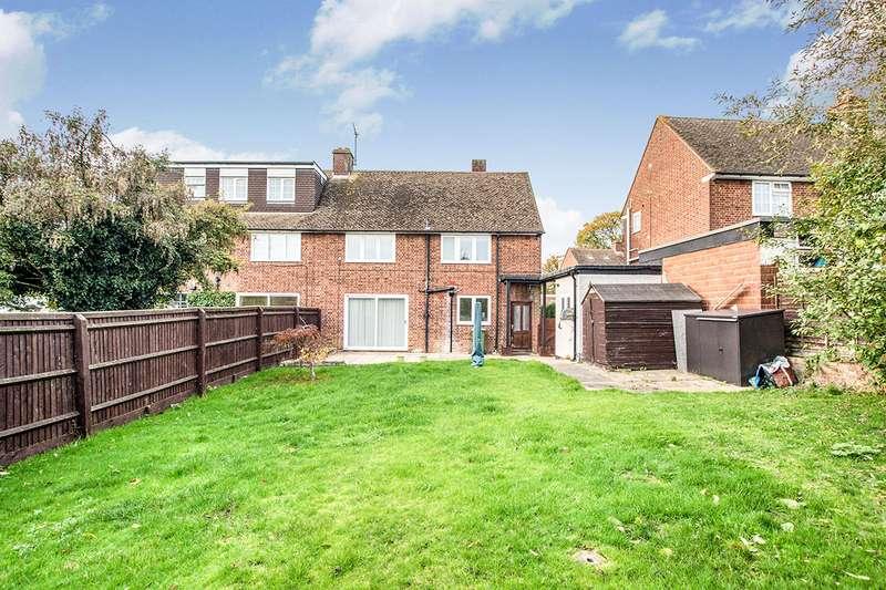 4 Bedrooms Semi Detached House for sale in Hobbs Hill Road, Nash Mills, Hemel Hempstead, Hertfordshire, HP3