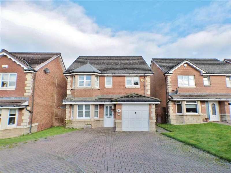 4 Bedrooms Detached House for sale in Brendon Avenue, Lindsayfield, EAST KILBRIDE